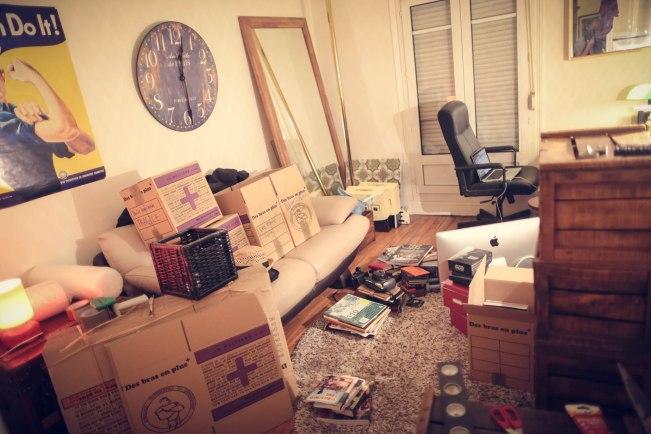 Too much stuff for a Wayfarer's life