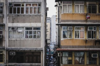 Apartments in central Hong Kong.