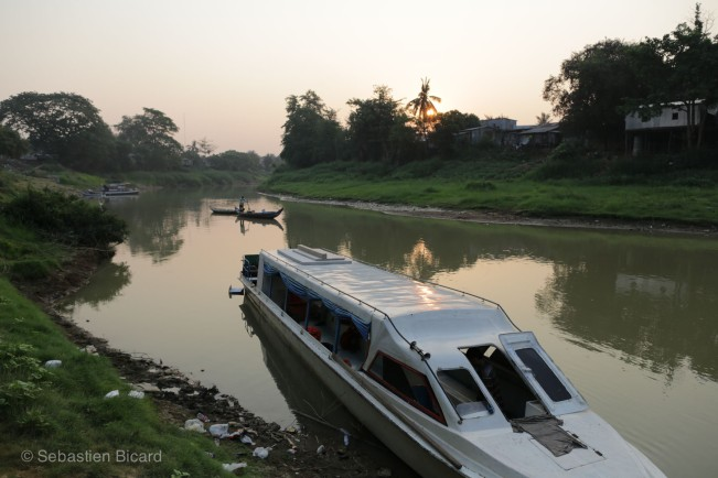 The boat from Battambang to Siem Reap was one of our best memories in Cambodia. Tickets available through most guesthouses in town.