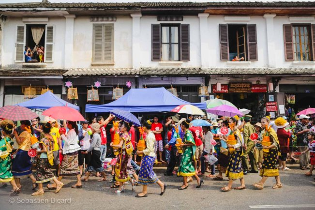 Small and charming Luang Prabang turns into party central for a few days for the New Year's celebrations.