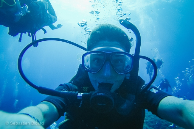 We went from scuba newbies to Advanced Open Water divers in about a week on Koh Tao.