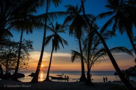 The island paradise beach of Sai Thong resort in Koh Tao. Thailand, May 2014.