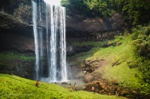 Tad Alang was by far the most impressive waterfall that we saw in the Bolaven Plateau in Southern Laos. March 2014.