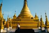 Sandamuni pagoda in central Mandalay, Myanmar, May 2014.