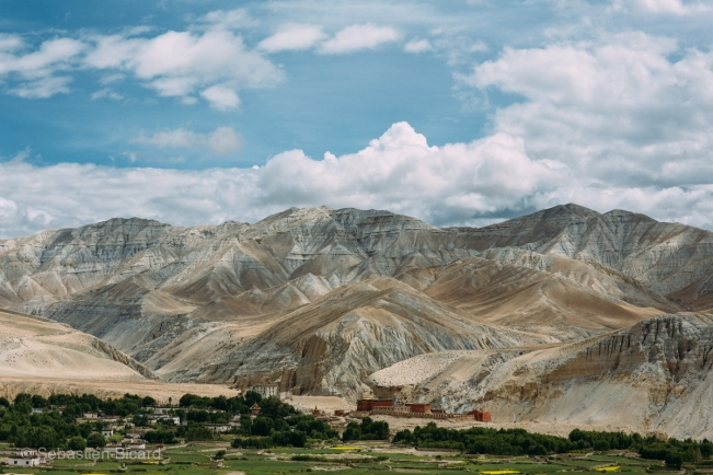 The larger-than-life landscapes of Upper Mustang sometimes reminded me more of the Nevada or Morocco than the Himalayas.